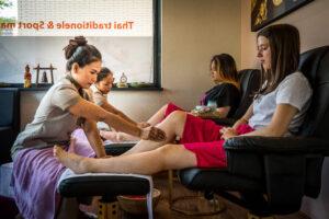 fasiam-Thaise voetreflex massage